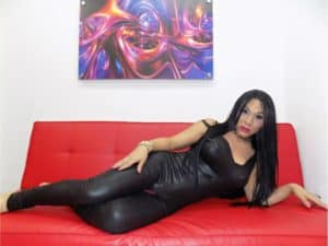 shemale wearing latex, shemale webcam