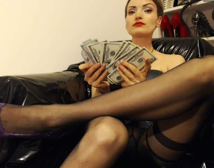 findom, greedy mistress