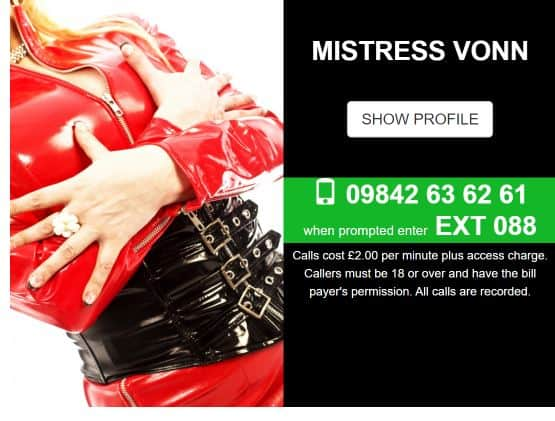 Uk Mistress Phone