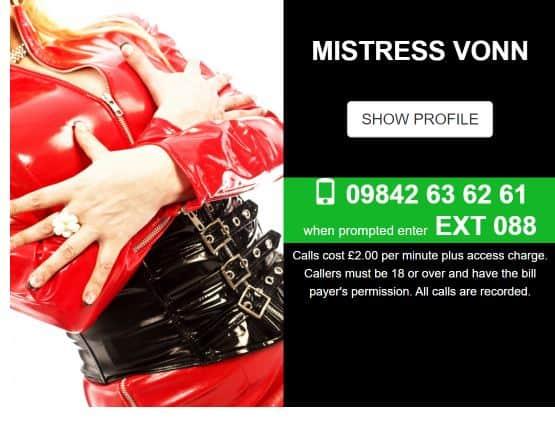 Uk Mistress Phone